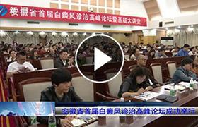 安徽省首届白癜风诊治高峰论坛成功召开