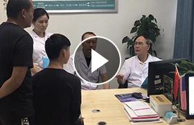 霍永兴主任与朱光斗教授联合会诊现场